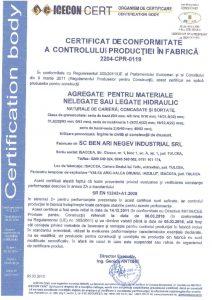 thumbnail of Materiale nelegate sau legate hidraulic